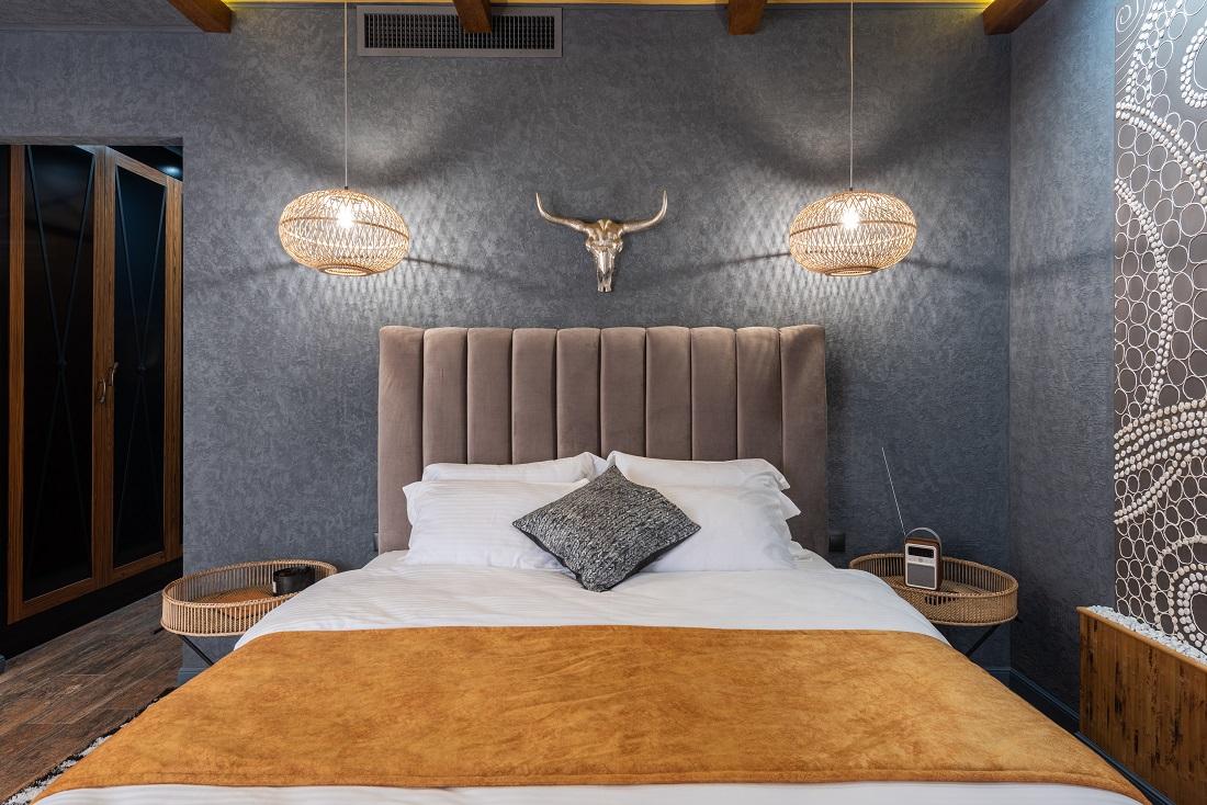 Des idées originales pour le design d'une tête de lit en palette